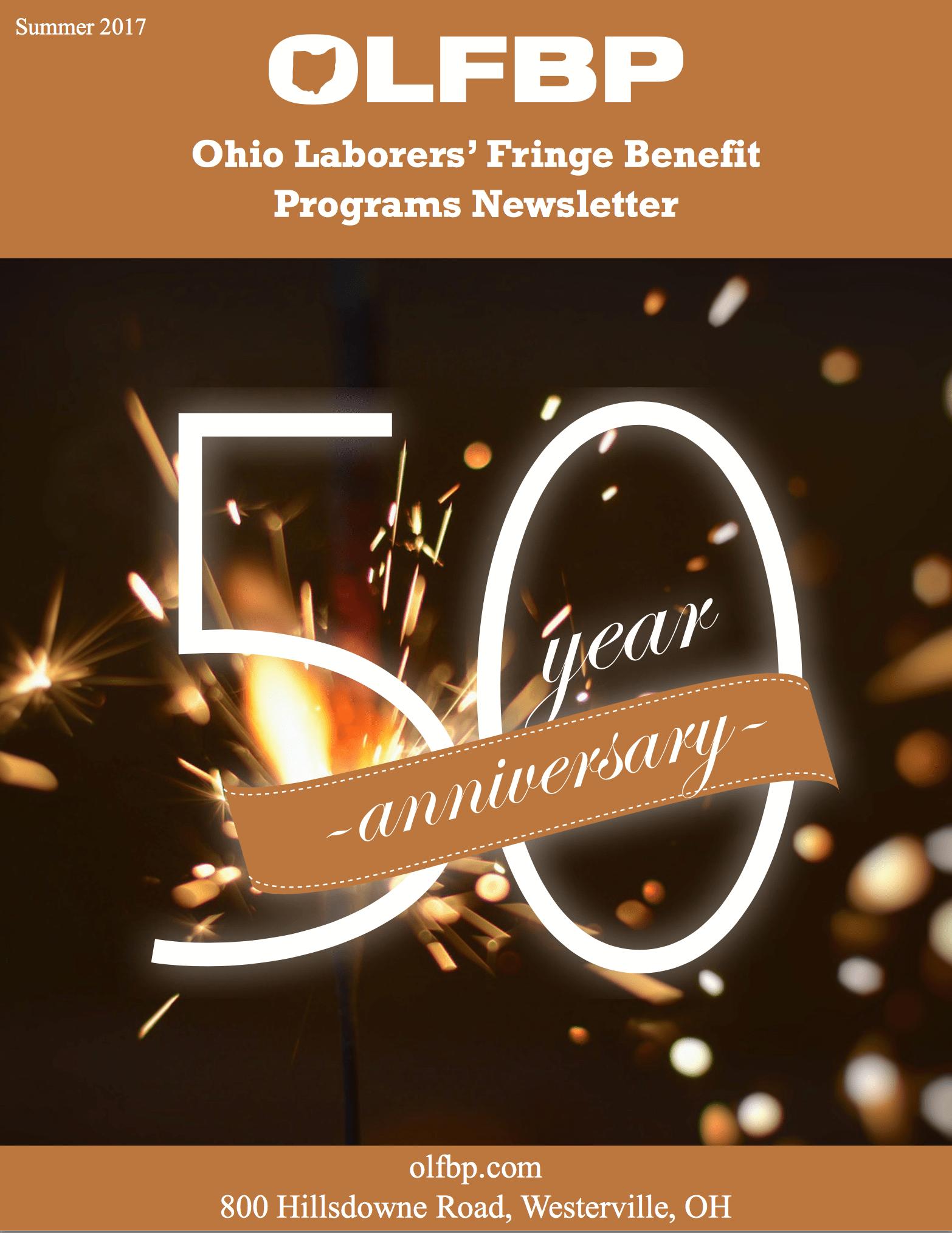 Summer 2017 newsletter cover